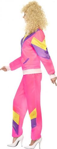 Sportliches 80er-Jahre-Kostüm für Damen-1