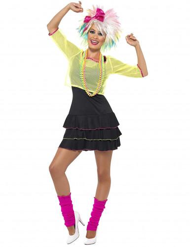 80er-Jahre Pop-Kostüm für Damen-2
