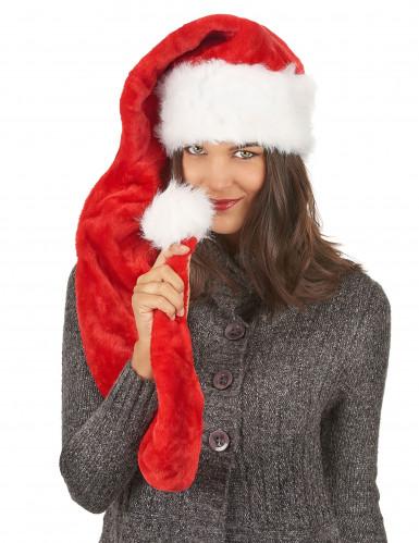Lange Weihnachtsmann Zipfelmütze-2