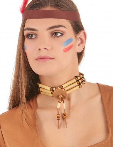 Indianer-Halskette-1