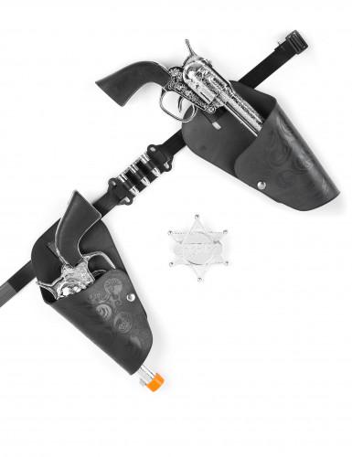 Revolver-Set für Cowboys