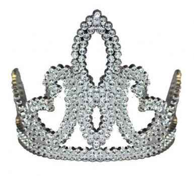Silberne Prinzessinnen-Krone für Mädchen