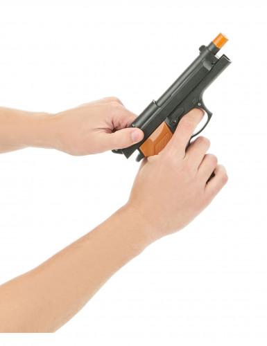 Set mit Revolver und Handgranate-2