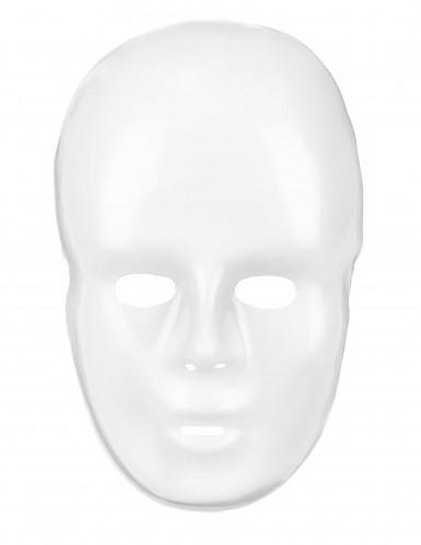 Weiße Gesichts-Maske für Erwachsene