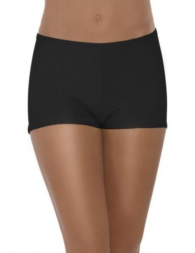 Schwarze Hotpants für Damen