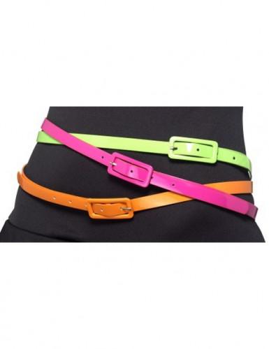 Neonfarbene Gürtel für Erwachsene