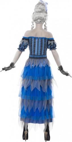 Halloween Geister-Saloon-Tänzerinnen-Kostüm für Damen-2