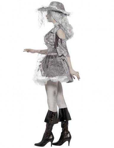 Halloween Piraten-Geister-Kostüm für Damen-1