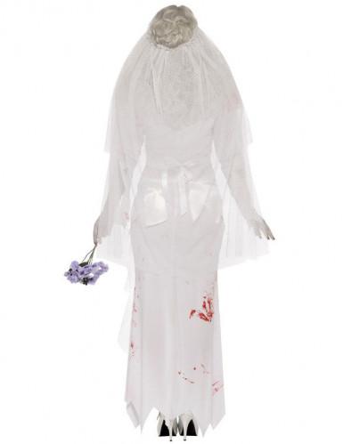 Halloween Zombie-Braut-Kostüm für Damen-1