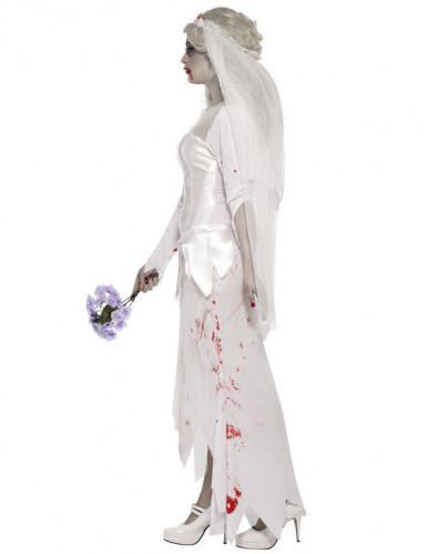 Halloween Zombie-Braut-Kostüm für Damen-2