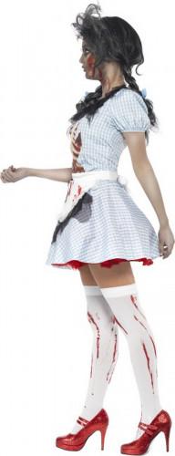 Halloween Zombie-Rotkäppchen-Kostüm für Damen-1