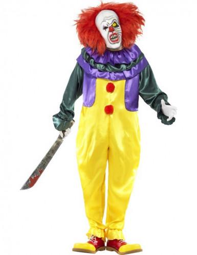 Schreckliches Clowns-Kostüm für Erwachsene