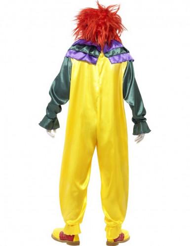 Schreckliches Clowns-Kostüm für Erwachsene-2