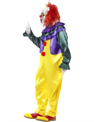 Schreckliches Clowns-Kostüm für Erwachsene-1