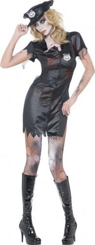 Halloween Sexy Polizei-Zombie-Kostüm für Damen