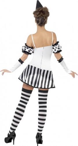 Sexy Clowns-Pantomime-Kostüm für Damen-2