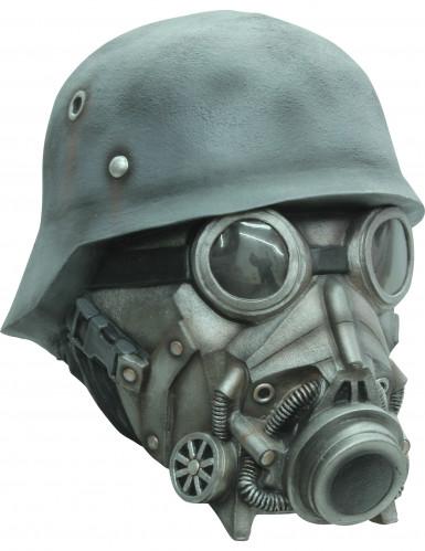 Soldat mit Gasmaske - Maske für Erwachsene