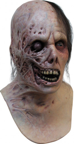 Halloween Verbrannte Zombie-Maske für Erwachsene