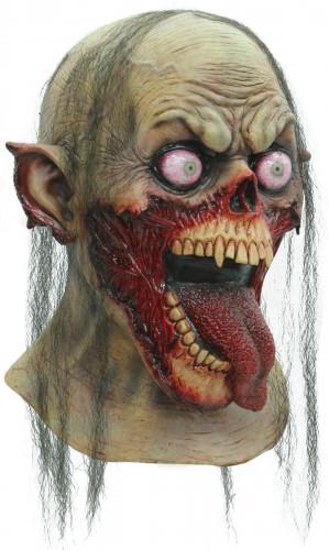 Halloween Ekelhafte Zombie-Maske für Erwachsene
