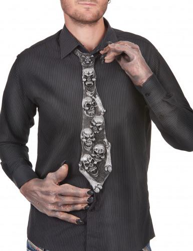 Skelett Krawatte