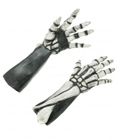 Halloween Skeletthände für Erwachsene
