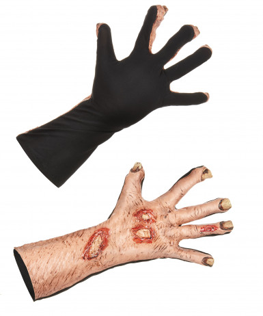 Halloween gruselige Zombie-Handschuhe für Erwachsene