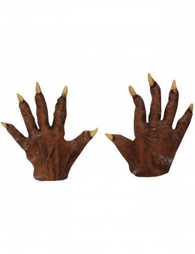 Halloween Werwolf-Hände für Erwachsene