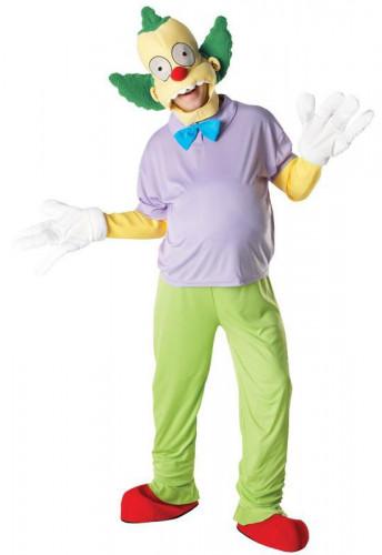 Krusty der Clown™-Kostüm für Erwachsene
