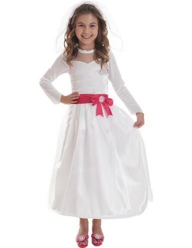 Barbie™ Braut-Kostüm für Mädchen