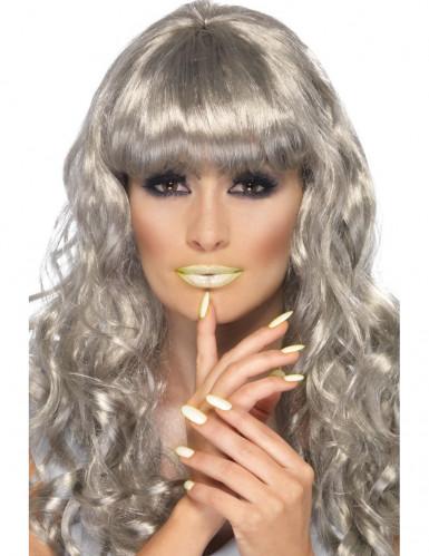 Phosphoreszierender Lippenstift und Nagellack