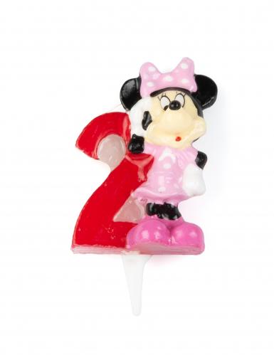 Minnie Mouse™ Kerze - Zahl 2