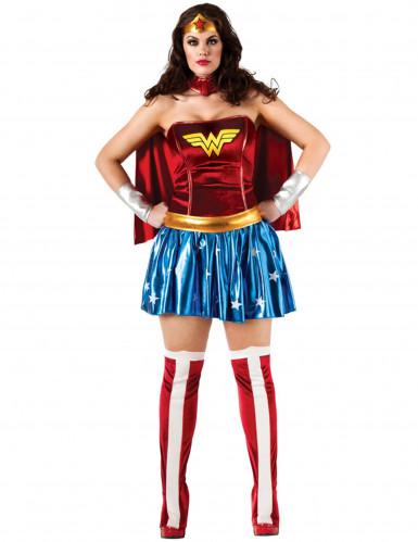 Wonder Woman™-Kostüm für Damen Plus Size