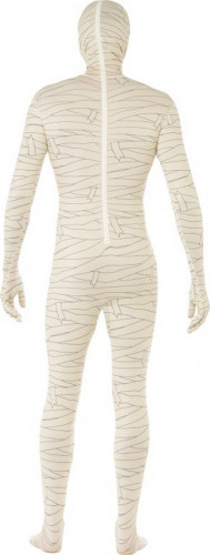 Hautenges Halloween Mumien-Kostüm für Erwachsene-2