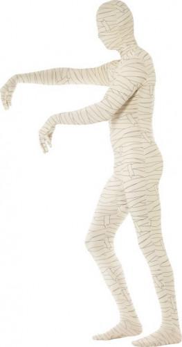 Hautenges Halloween Mumien-Kostüm für Erwachsene-1