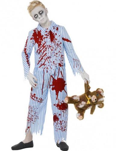 Halloween Zombie-Pyjama-Kostüm für Jungen