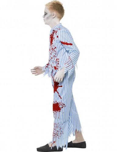 Halloween Zombie-Pyjama-Kostüm für Jungen-1