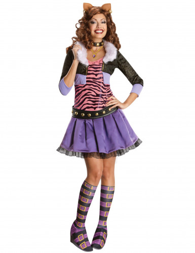 Monster High Clawdeen Wolf™-Kostüm für Damen