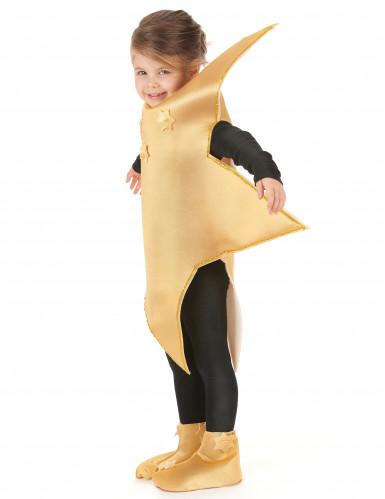 Goldenes Stern-Kostüm für Kinder-1