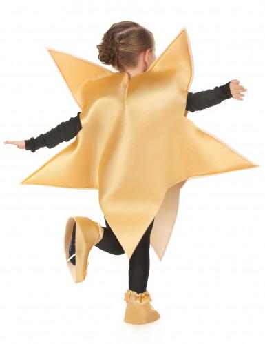 Goldenes Stern-Kostüm für Kinder-2