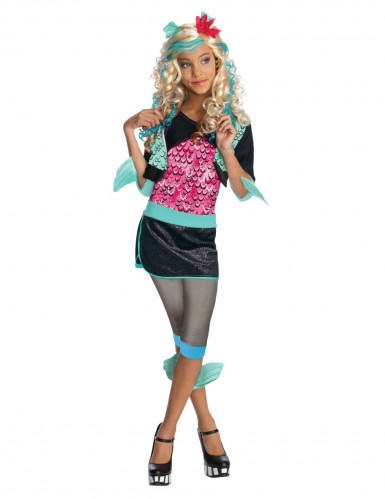 Lagoona Blue Monster High™ Kostüm für Mädchen