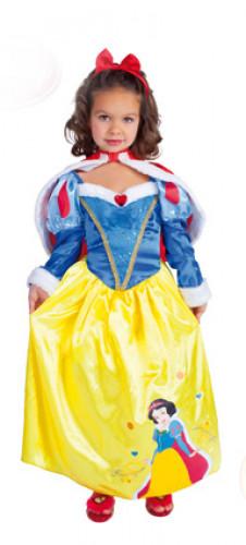 Niedliches Schneewittchen™-Kostüm für Mädchen
