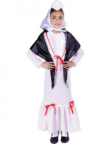 Stilechtes Spanien-Kostüm für Mädchen