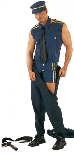 Sexy Polizei-Striptease-Kostüm für Herren-1