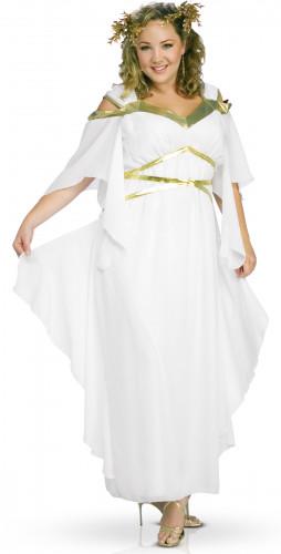 Römisches Göttinnen-Kostüm in Weiß für Damen