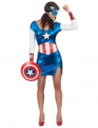 Sexy Captain-Girl-Kostüm für Damen