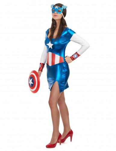 Sexy Captain-Girl-Kostüm für Damen-2