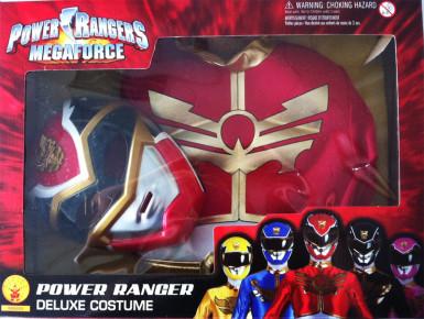 Rotes Power Rangers Megaforce™-Kostüm für Jungen-1