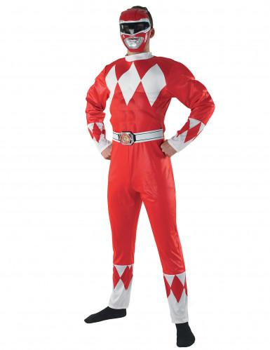 Rotes Power Rangers™ für Erwachsene