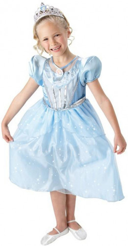 Funkelndes Cinderella™-Kostüm für Mädchen