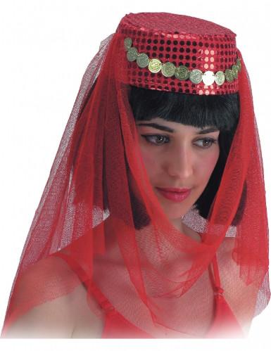 Orientalischer Tänzerinnen-Kopfschmuck für Damen